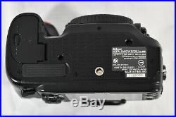 Nikon D7200 camera body for parts or repair Sold as-is No returns