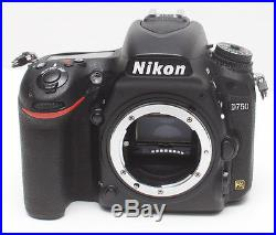 Nikon D750 Camera Body Only DSLR Parts Repair As is