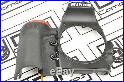 Nikon D810 Front Cover With Rubber Grip Replacement Repair Part DH6674