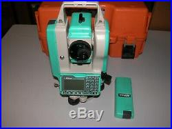 Nikon DTM-352 Total Station For parts or Repair Untested