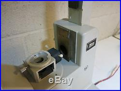 Nikon Diaphot Inverted Lab Microscope With Head And Base / Parts Or Repair (n7)