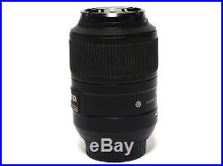 Nikon ED AF-S DX Micro 85mm F/3.5G VR Lens For Parts or Repair