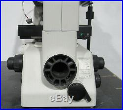 Nikon Eclipse TE300 Phase Contrast Inverted Microscope No Power For Parts/Repair