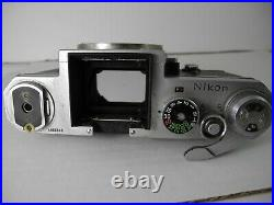Nikon F Body For Parts Or Repair All Works Perfectly Shutter Speeds On 1968