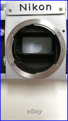 Nikon F Eyelevel Body ONLY for parts/repair please read