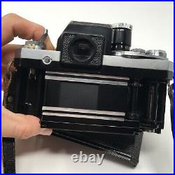 Nikon F Photomic T 35mm Body Only with Cap. FOR PARTS / REPAIR. FREE SHIPPING