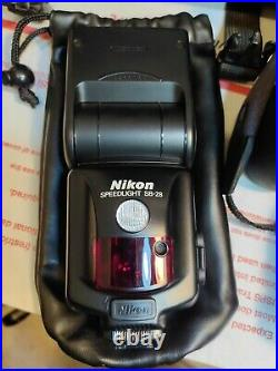 Nikon F100 Camera WithTamron AF 28-200mm Lens Carrying Case & Acc. Parts/Repair