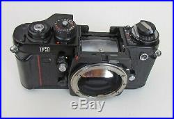 Nikon F3 35mm Camera Body and Prism Finder for PARTS OR REPAIR
