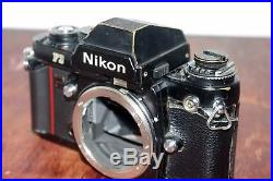 Nikon F3 body with Prism Finder for parts / repair / AS IS