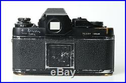 Nikon F3 non HP 35mm SLR Film Camera Body as-is for parts or repairs