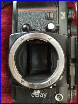 Nikon F3HP 35mm Body only Parts/repair Film Camera Black untested