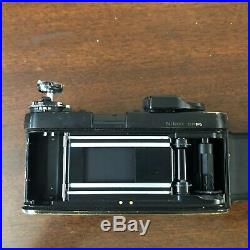 Nikon F3HP 35mm Camera Body For Parts/Repair, Shutter Fires As Is Condition