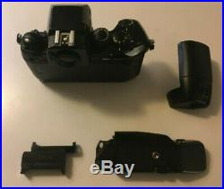 Nikon F4 Body with MB-21 Speed Drive SLR Film Camera FOR PARTS OR REPAIR