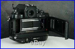 Nikon F4S F4 S 35mm Film Professional SLR Camera Body Only For Parts/Repair