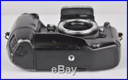 Nikon F4s 35mm SLR Film Camera Body Only. Broken shutter. For Repair/Parts Only
