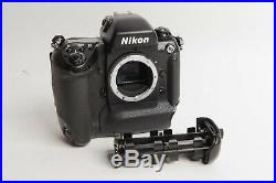 Nikon F5 35mm Body Only Film Camera Battery Corrosion, parts/repair DP30 Prism