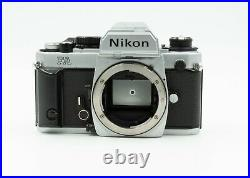 Nikon FA Chrome Camera Body For Parts or Repair Not Working Correctly