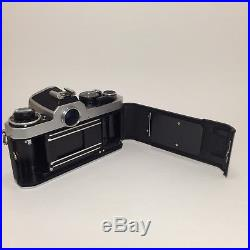 Nikon FE2 35mm SLR Camera Body Only For Parts Or Repair