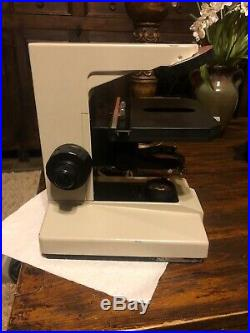 Nikon Labophot Microscope Body And Stage PARTS / REPAIR
