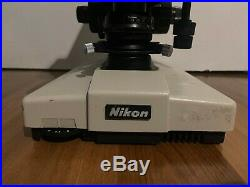 Nikon Labophot & Optiphot Microscopes for Parts or Repair