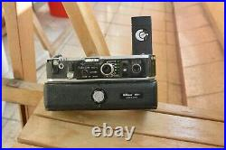 Nikon MD-2 Motor Drive + MB-1 Battery Pack for F2, for parts or repair