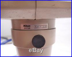 Nikon Microscope With Stand Parts And Repair