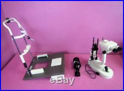Nikon NS-1V Ophthalmic Slit Lamp Zoom Microscope with Light & Table PARTS/REPAIR