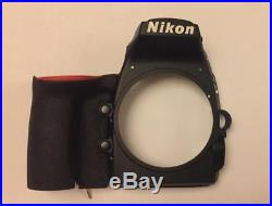 Original NEW Front Cover With Rubber Grip Replacement Repair Part For Nikon D810