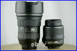 Parts/Repair Tokina 16-28mm f/2.8 Fx Wide Angle Zoom Lens Nikon 18-55mm VR Dx