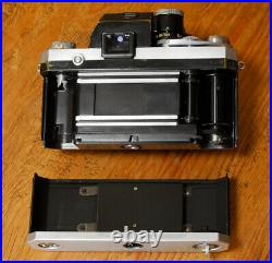 RARE Nikon F camera w Photomic Finder EP Engraved for Parts or Repair