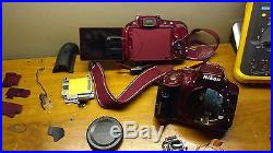 REDNikon D5300 Top Cover With Flash and Dial Replacement Repair Part DH4089