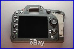 Repair Parts For Nikon D7100 Rear Cover Assembly Authentic Original Part + LCD