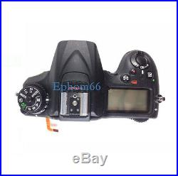 Top Cover Head Cover Repair Part For Nikon D7200 SLR Camera With Top Flash board