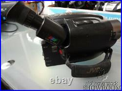 Used & Untested JVC GR-AX830U VHS-C Camcorder 44x Zoom For Parts Or Repair