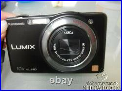 Used & Untested Panasonic LUMIX DMC-SZ7 Digital Camera For Parts Or Repairs Only