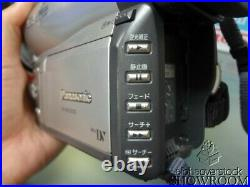 Used & Untested Panasonic NV-MX3000 1.3MP LEICA Camcorder Parts Or Repairs