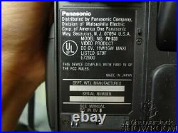 Used & Untested Panasonic VHS-C PalmCorder PV-53D 20x Zoom Parts Or Repairs