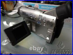 Used & Untested Sharp VL-WD250U Digital Camcorder For Parts Or Repairs Only