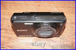 Used & Untested Sony Mavica DSC-W290 12.1MP Digital Camera Parts Or Repair Only