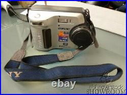 Used & Untested Sony Mavica MVC-FD200 2.0MP 6x Zoom For Parts Or Repairs Only
