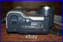 Used & Untested Sony Mavica MVC-FD92 1.6MP 16x Zoom Camera Parts Or Repair Only