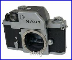 Vintage Nikon F Photomic Chrome CAMERA BODY 1960s- For Parts/Repair AS IS
