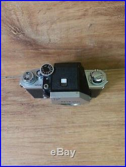 Vintage Nikon F camera Body. 7103611. Untested. Parts/repair